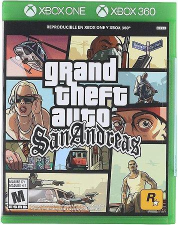 GTA: SAN ANDREAS XBOX 360 MÍDIA DIGITAL