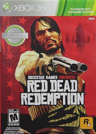 RED DEAD REDEMPTION XBOX 360 MÍDIA DIGITAL