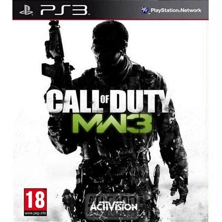 CALL OF DUTY MODERN WARFARE 3 PS3 PSN MÍDIA DIGITAL