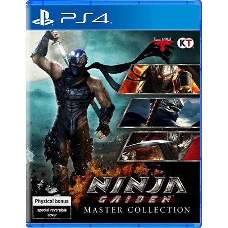 Ninja gaiden Master collection PS4 PSN mídia digital