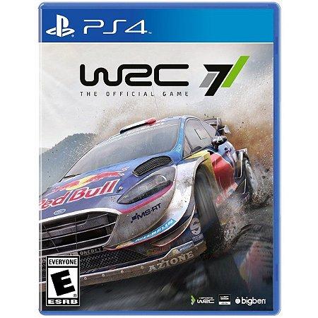 WRC 7 FIA WORLD RALLY CHAMPIONSHIP PS4 MIDIA DIGITAL