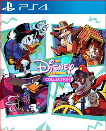 The disney afternoon collection ps4 midia digital