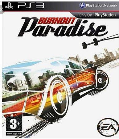 Burnout paradise PS3 PSN mídia digital