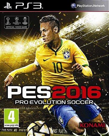 PES 2016 pro evolution soccer 16 PS3 Mídia digital