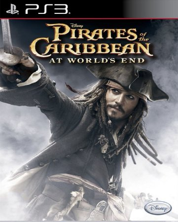 Piratas do caribe at the worlds end ps2 classic ps3 midia digital PSN