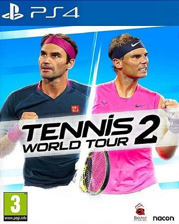 Tennis World tour 2 ps4 psn midia digital