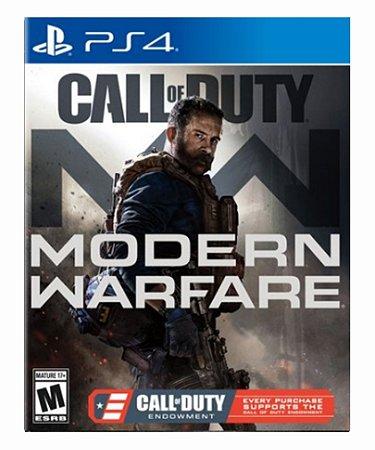 Call of Duty: Modern Warfare - Ps4 Psn Mídia Digital