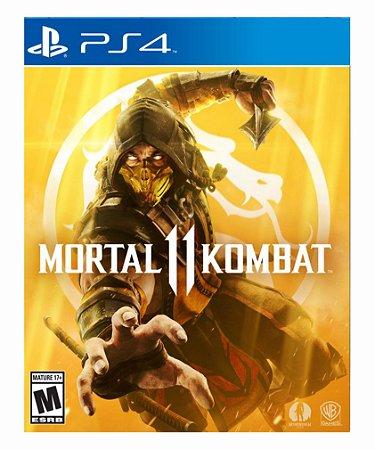 Mortal Kombat 11 - Ps4 Psn Mídia Digital