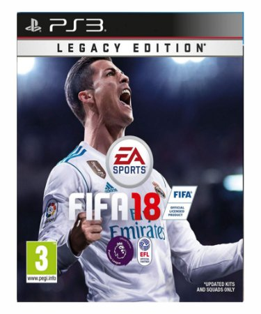 Fifa 18 Legacy Edition Ps3 Psn Midia Digital
