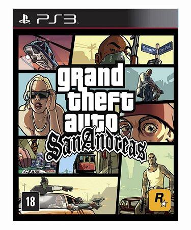 Grand Theft Auto Gta San Andreas - Ps3 Psn Mídia Digital