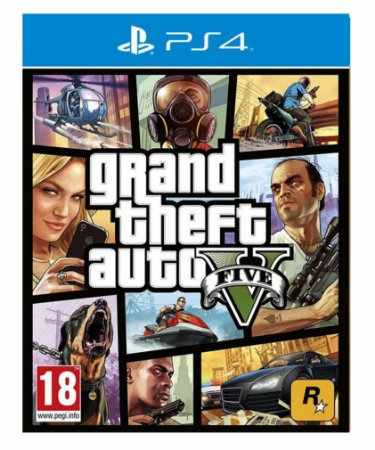 Grand Theft Auto V Gta 5 - Ps4 Psn Mídia Digital