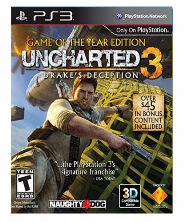 Uncharted 3 Game of The years Ps3  Psn Midia Digital