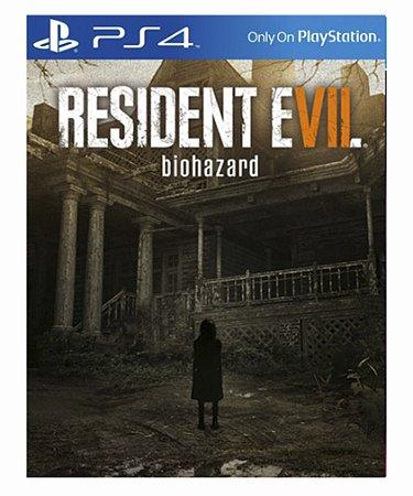 Resident Evil 7 Biohazard - Ps4 Psn Mídia Digital