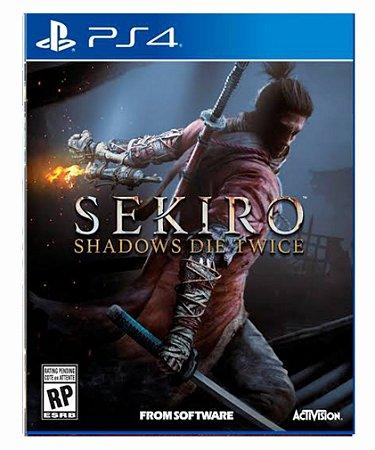 SEKIRO SHADOWS DIE TWICE PS4 PSN MIDIA DIGITAL