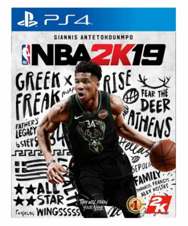 NBA 2K19 - Ps4 Psn Mídia Digital