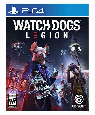 Watch Dogs: Legion - Ps4 Psn Mídia Digital Pré-Venda 31/12/2020