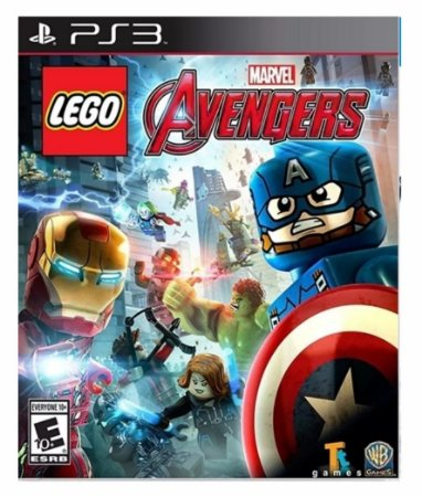 Lego Marvels Avengers - Ps3 Psn Mídia Digital
