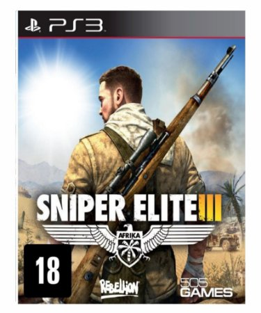 Sniper elite 3 ps3 psn midia digital