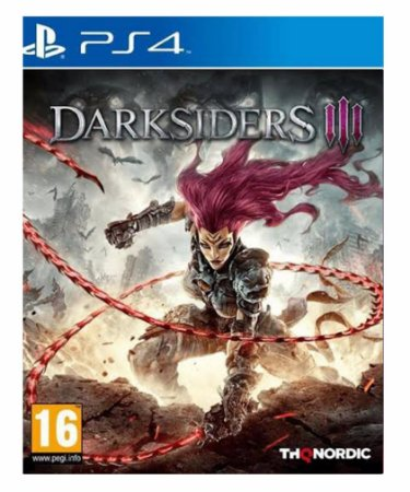 Darksiders 3 ps4 psn midia digital