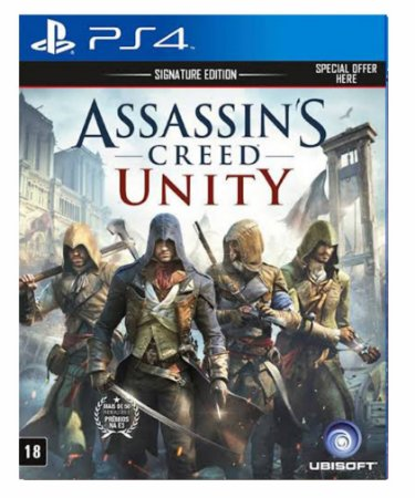 Assassins Creed Unity - Ps4 Psn Mídia Digital