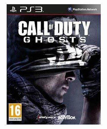 Call of duty Ghosts dublado ps3 psn midia digital