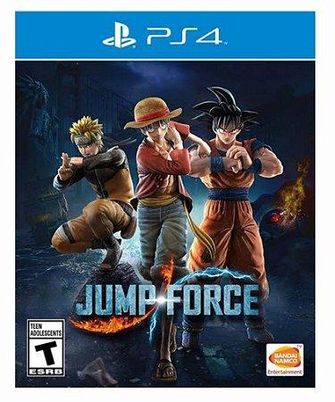Jump force ps4 psn midia digital