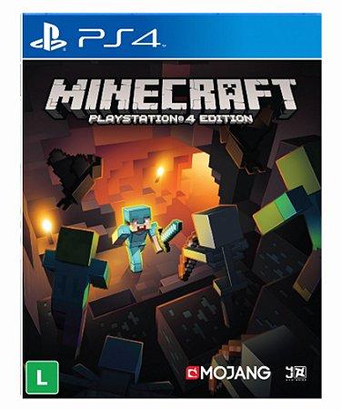 Minecraft ps4 psn midia digital