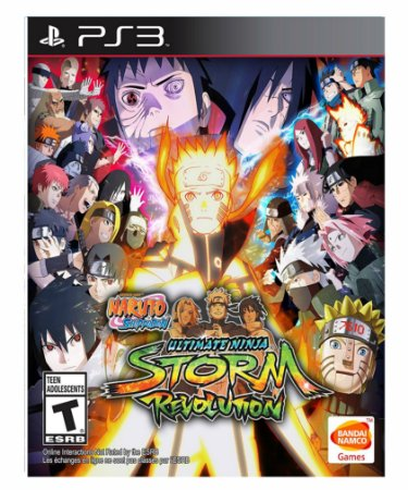 Naruto Shippuden Ultimate Ninja Storm Revolution  - Ps3 Psn Mídia Digital