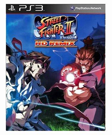 Super Street fighter II turbo HD ps3 psn midia digital
