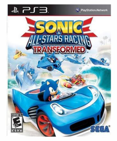Sonic & All-Stars Racing Transformed PS3 PSN Mídia Digital