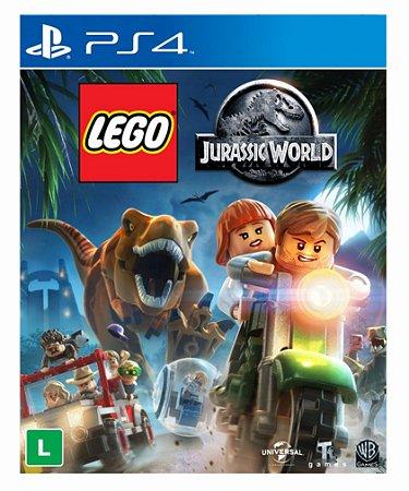 Lego Jurassic World - Ps4 Psn Mídia Digital