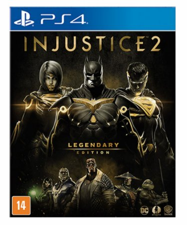 Injustice 2 - legendary edition ps4 psn midia digital
