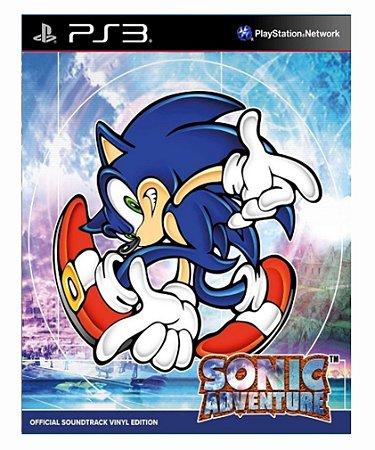 Sonic Adventure ps3 psn midia digital