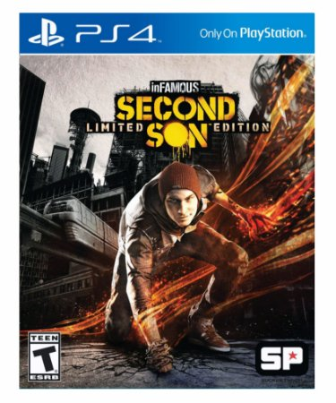 Infamous second son ps4 psn midia digital