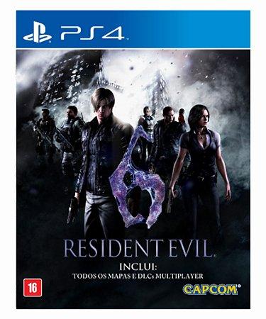 Resident evil 6 ps4 psn midia digital