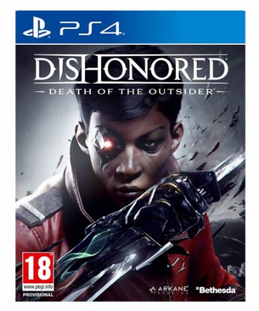 Dishonored Death of the Outsider ps4 psn midia digital