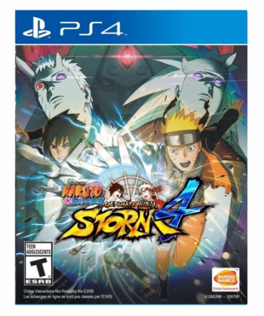 Naruto Shippuden: Ultimate Ninja Storm 4 - Ps4 Psn Mídia Digital