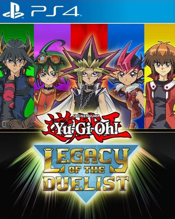 YuGi Oh! Legacy of The Duelist - Ps4 Psn Mídia Digital