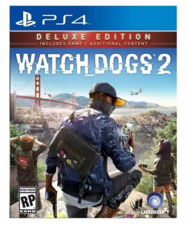 Watch dogs 2  deluxe edition ps4 psn midia digital