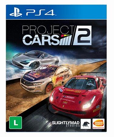 Project CARS 2 ps4 psn midia digital