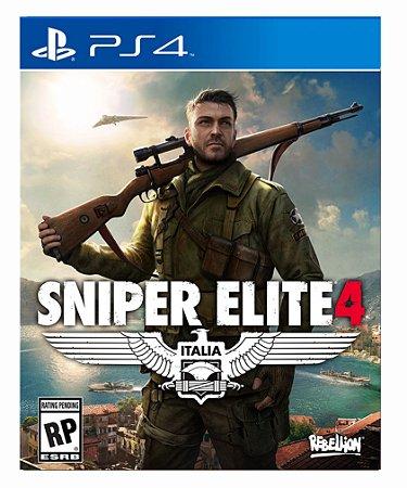 Sniper elite 4 ps4 psn midia digital