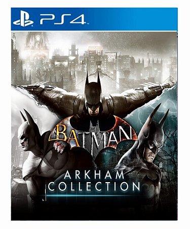 Batman: Arkham Collection - Ps4 Psn Mídia Digital
