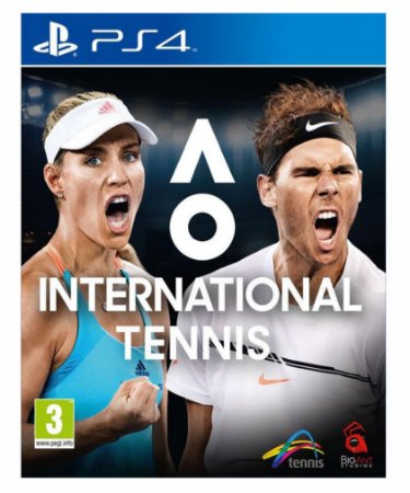 AO International Tennis ps4 psn midia digital