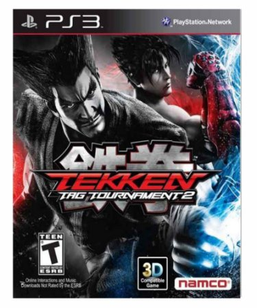 Tekken tag tournament 2- ps3 psn midia digital