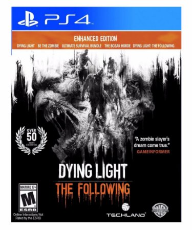 Dying Light: The Following Enhanced Edition - Ps4 Psn Mídia Digital