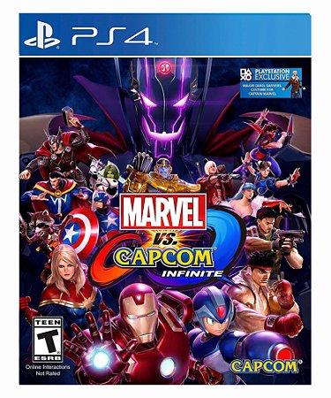 Marvel vs capcom infinite- standard edition ps4 psn midia digital