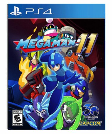 Mega Man 11 - Ps4 Psn Mídia Digital