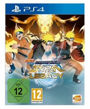 Naruto Shippuden Ultimate Ninja STORM Legacy - Ps4 Psn Mídia Digital