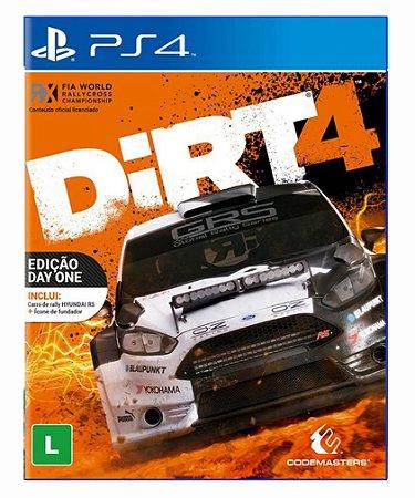 Dirt 4 - ps4 psn midia digital