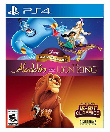 Disney Classic Games: Aladdin and The Lion King - Ps4 Psn Mídia Digital